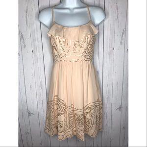 Johnny Martin Juniors Size 3 Chiffon Sequin Dress